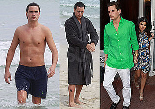 Photos of Shirtless Scott Disick on the Beach Filming Kourtney and Khloe Take Miami