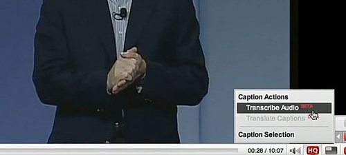 YouTube Rolls Out Auto Captioning to All Videos