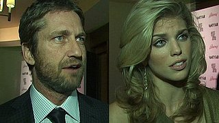 Gerard Butler, AnnaLynne McCord, and Jon Hamm at the Artists For Peace and Justice Event in LA