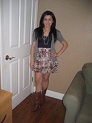 Pearls and boots
