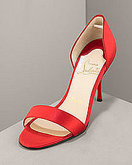 Christian Louboutin Satin d&#039;Orsay- Shoes &amp; Handbags- Neiman Marcus