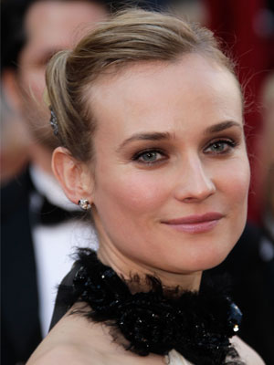 Diane Kruger&#039;s Hair at the 2010 Oscars 2010-03-08 12:48:41