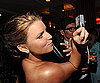 Slide Photo of Jessica Simpson at Vanity Fair Oscar Party