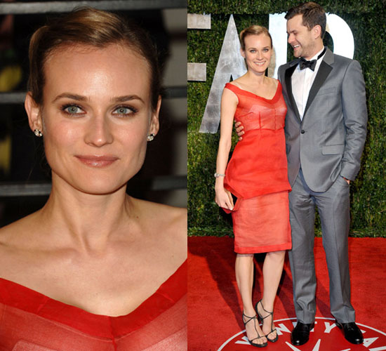 Diane Kruger and Joshua Jackson at 2010 Vanity Fair Oscars Afterparty