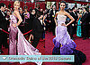 Photos of Red Carpet Dresses at 2010 Oscars with Dramatic Trains