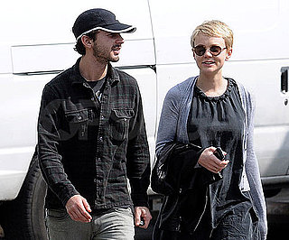 Slide Photo of Shia LaBeouf and Carey Mulligan in Santa Barbara