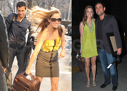 Photos of Jason Mesnick And Molly Malaney in NYC For Regis And Kelly; in LA on The Day Their Wedding Special Aired