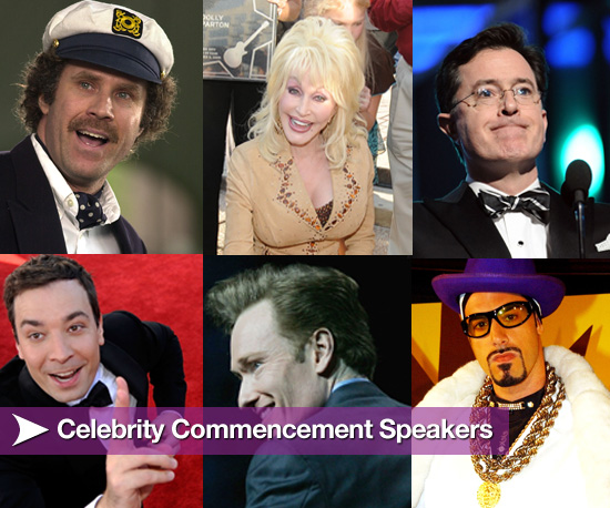 Celebrity Commencement Speeches