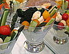 Vegetable Cocktails: A Pretty Spring Party Snack