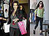 Photos of Kim Kardashian Shopping at Intermix While Kourtney Kardashian Works Out in Miami