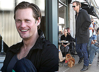 Photos of Alexander Skarsgard Out to Lunch in LA