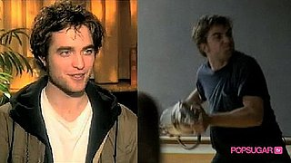 Robert Pattinson Acts Out Rage on Set