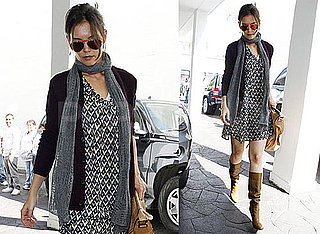 Photos of Katie Holmes Running Errands in LA