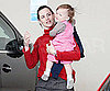 Slide Photo of Jennifer Garner and Seraphina in LA