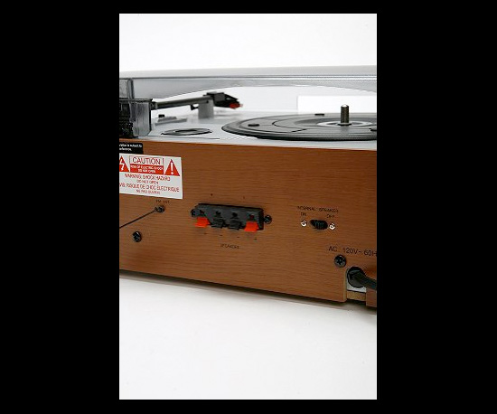 Photos of the Wood Turntable
