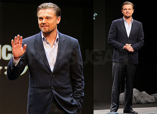 Photos of Leonardo DiCaprio Promoting Shutter Island in Tokyo While Bar Refaeli Hits Paris Fashion Week