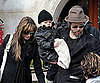 Slide Photo of Brad Pitt and Angelina Jolie With Knox in Venice