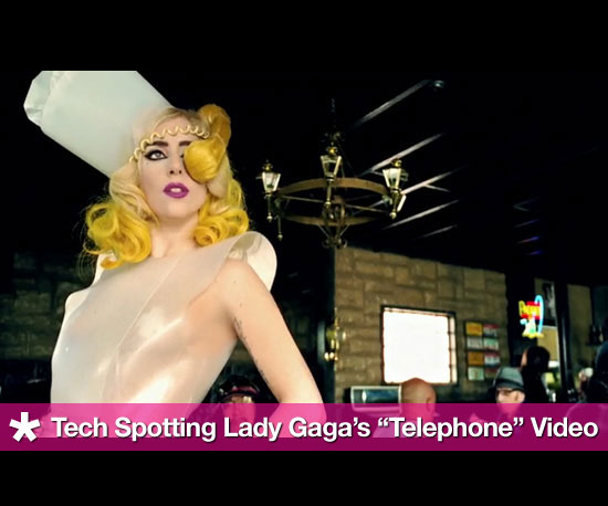 "Tech Spotting in Lady Gaga's ""Telephone"" Video"