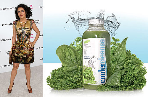 Salma Hayek Has a Juice Cleanse