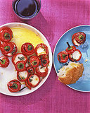 Stuffed Marinated Hot Red Cherry Peppers Recipe