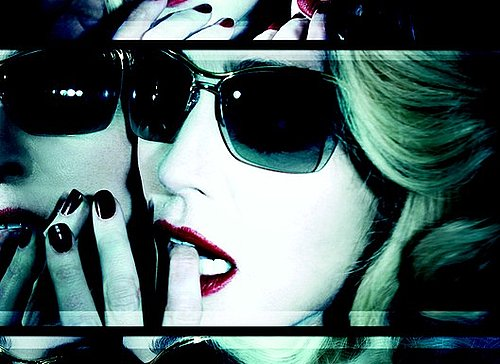 Photos of Madonna for Dolce and Gabbana Eyewear