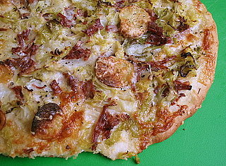Easy St. Patrick's Day Recipe For Corned Beef and Cabbage Pizza