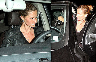 Photos of Gisele Bundchen Leaving Il Sole in LA After Her Vogue Spread