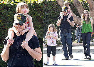 Photos of Peter Facinelli With Daughters Lola, Luca, and Fiona in LA