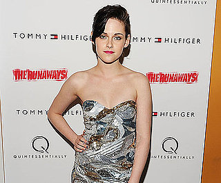 Slide Photo of Kristen Stewart at The Runaways NYC Premiere