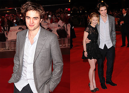 Photos of Robert Pattinson and Emilie de Ravin at the UK London Premiere of Remember Me 2010-03-17 12:30:00