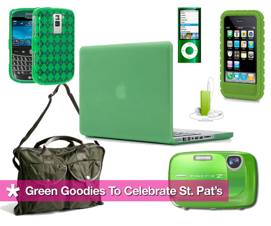 Green Gadgets and Accessories For St. Patrick&#039;s Day