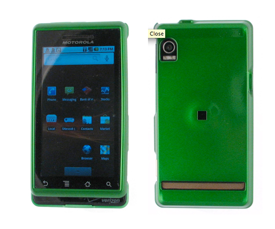 Green Droid Case ($10)