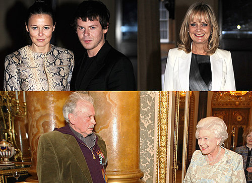 The Queen Honours British Fashion Industry at Buckingham Palace
