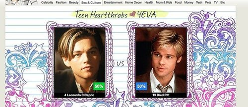Win an iPad and Help Pick Best Teen Heartthrob of All Time 2010-03-26 16:53:36