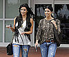 Slide Photo of Kim and Kourtney Kardashian in Miami