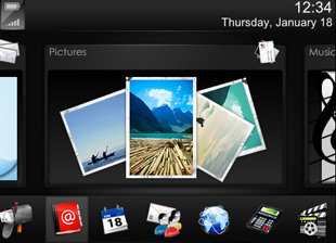 Colorful BlackBerry Themes
