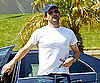 Slide Photo of Jon Hamm in LA
