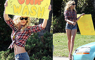 Photos of Cameron Diaz Looking Hot Filming Bad Teacher