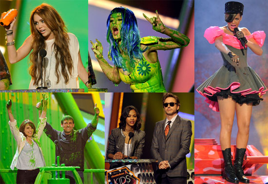 Photos of Katy Perry, Adam Sandler, Kevin James, Jesse McCartney, Anna Faris, And Rihanna at The 2010 Kids' Choice Award 2010-03-29 15:00:27