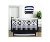 Oilo Wheels Crib Bedding Set