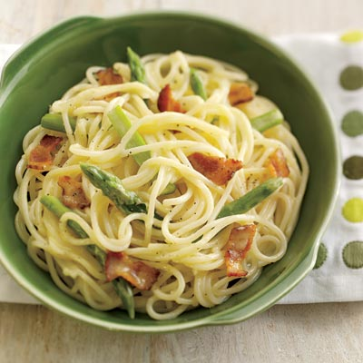 Asparagus Carbonara Recipe