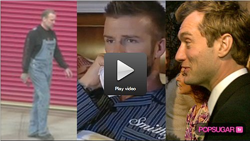 Adorable David Beckham Video, Jesse Lays Low, and Jude Law Is Proud of Hamlet