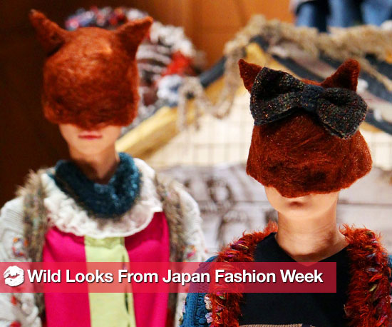 See the Wildest Looks From Japan Fashion Week