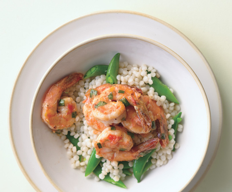 Easy Shrimp and Pearl Couscous Dinner Recipe