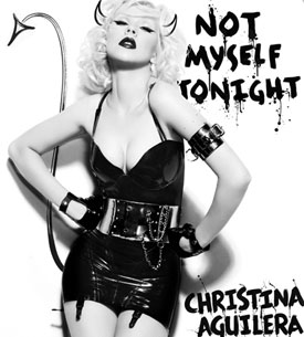"Christina Aguilera To Release New Single ""Not Myself Tonight"" 2010-03-23 11:30:00"