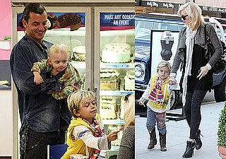 Photos of Gwen Stefani, Zuma, Kingston and Gavin Rossdale Grabbing Dinner and Ice Cream in Los Angeles