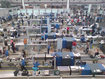 Airport Security Wait Time Information Through Your Cell Phone