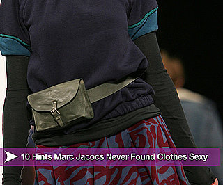 Marc Jacobs Doesn't Find Clothes Sexy