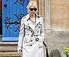 Slide Photo of Gwyneth Paltrow In a Trench Coat
