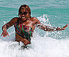 Slide Photo of Serena Williams in a Bikini